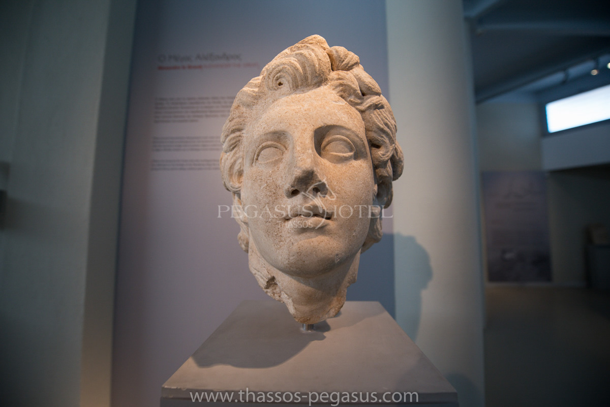 Archeological Museum of Thassos - Alexander the Great